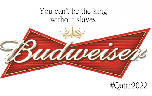 FIFA, anti-logos corporativos, Budweiser