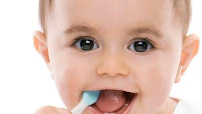 imagen dientes de un bebé