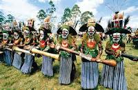 Trajes típicos de tribus de Oceanía