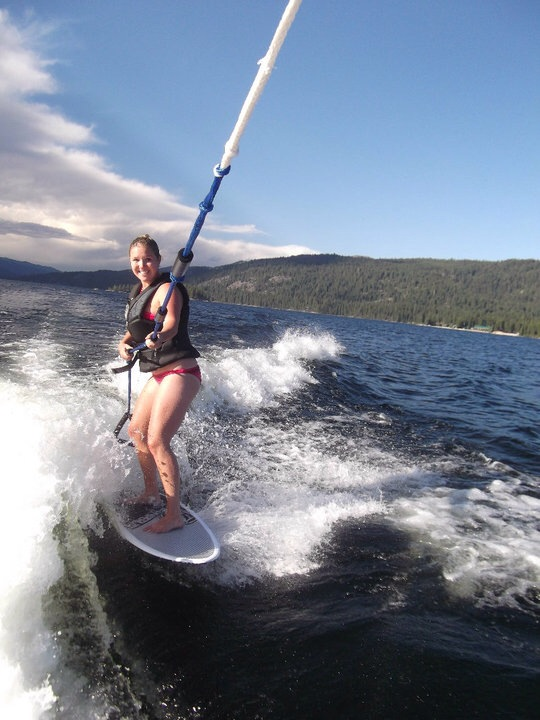 Wake surfing Idaho