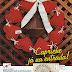 Patrón: Rosca de navidad con corazones al crochet!!!