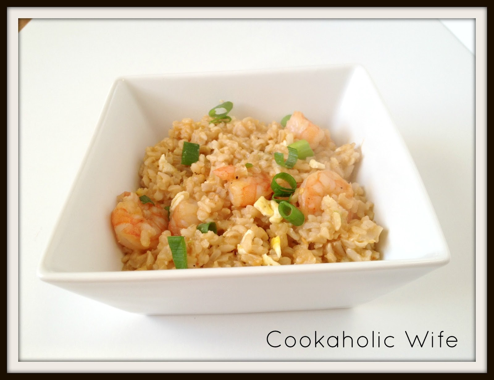 Cookaholic Wife: Spicy Shrimp Fried Rice
