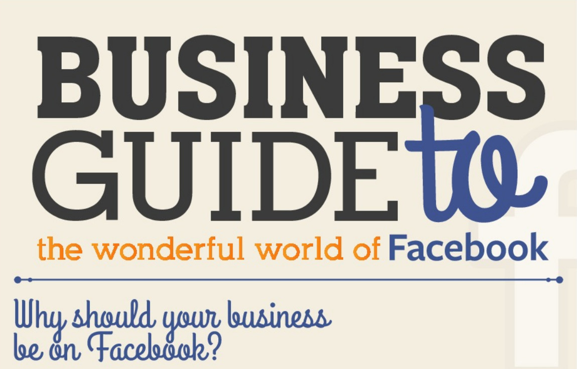 Business Guide To the Wonderful World of Facebook - infographic