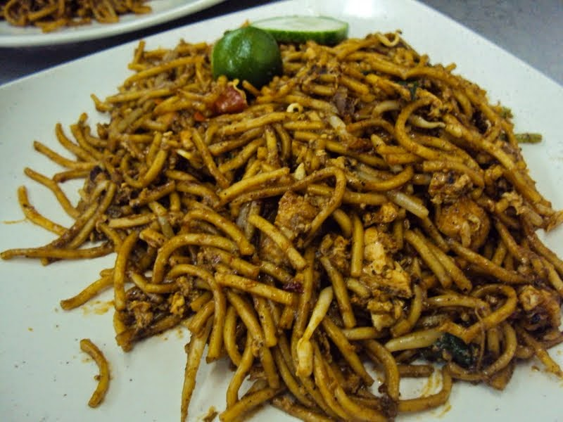 Mee goreng mamak for late lunch