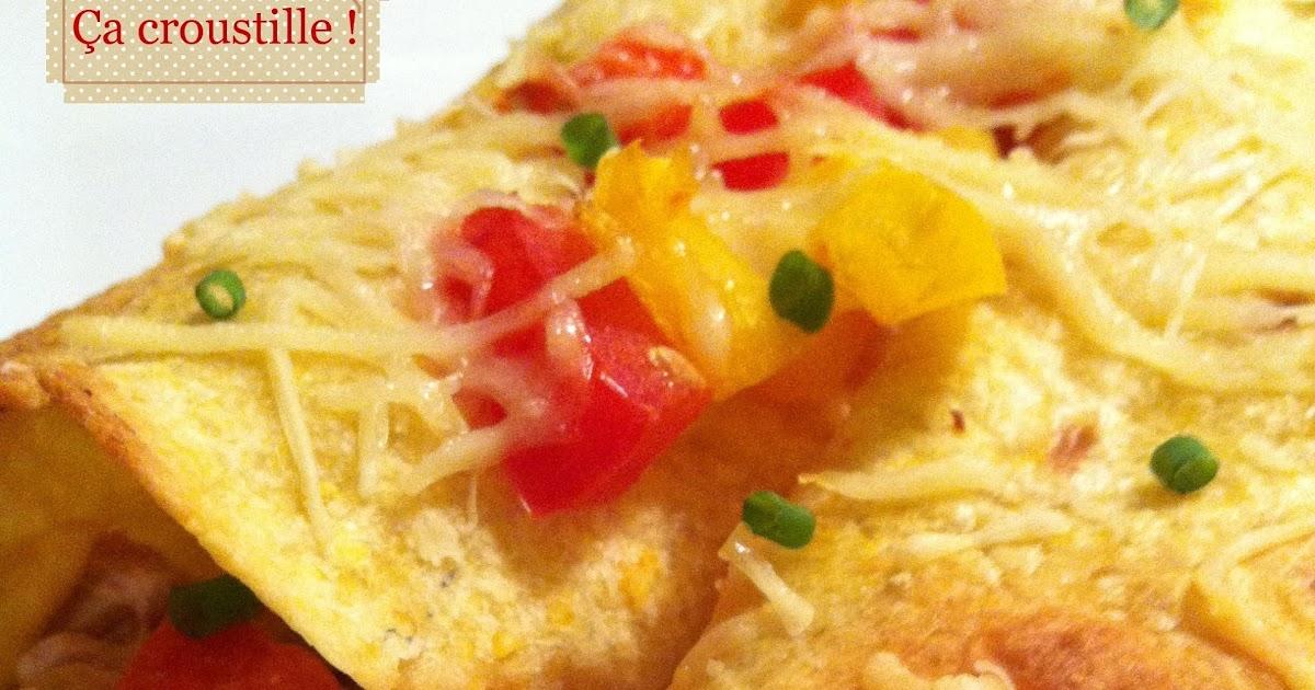 A croustille fajitas gratin es au thon et l gumes du - Cuisiner du thon en boite ...