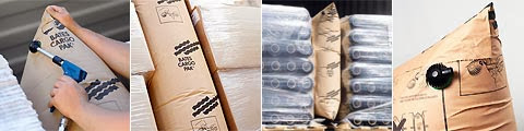 丹麥BATES貨櫃充氣袋