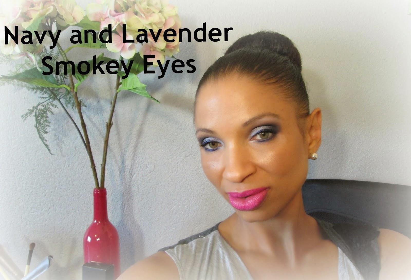 http://chrysalisglam101.blogspot.com/2014/09/navy-and-lavender-smokey-eye-tutorial.html