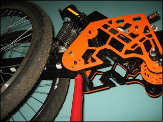 Мотор-колесо консольный на продажу из проекта Quadro trike