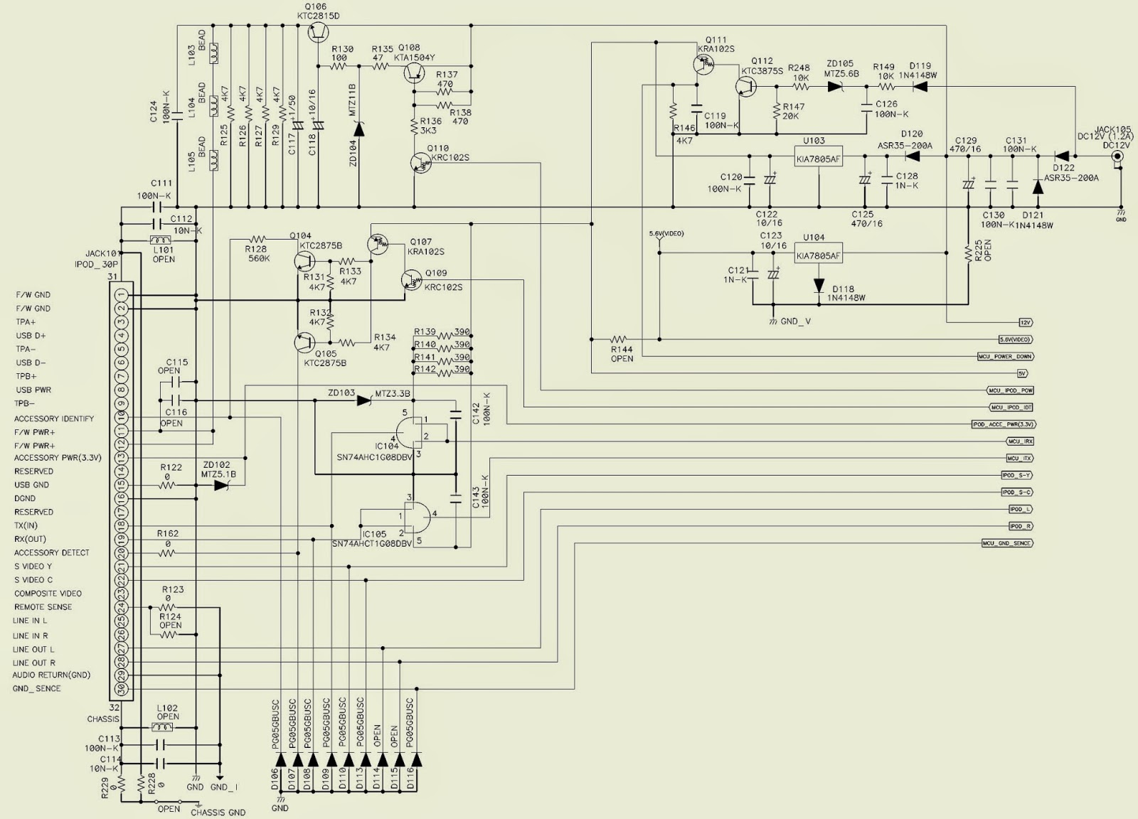 Denon Asd 1r Control Dock For Ipod Schematic Circuit Diagram Ethernet Cable Wiring Schematics Click On The Pictures To Magnify