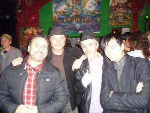 En Tinta Roja, con Curtis&Kronia y Dante Alarido.