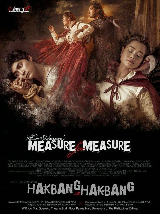 MEASURE FOR MEASURE/HAKBANG SA HAKBANG