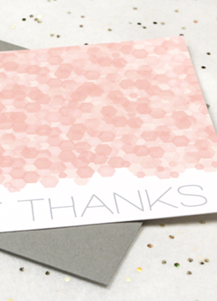 postal gracias con serpentinas imprimibles gratis free printables Sequins Thank you Note