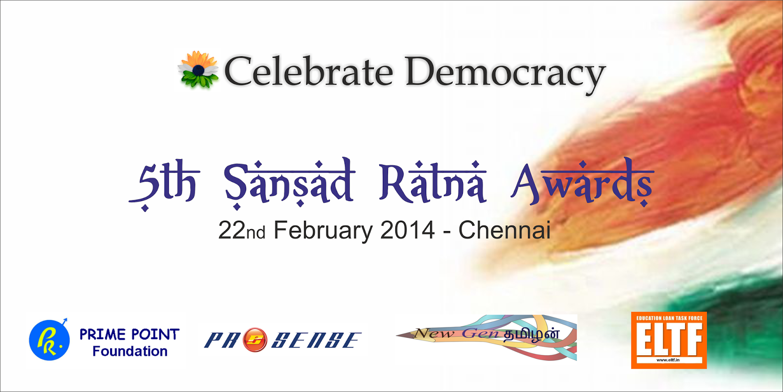 Celebrate Democracy - Sansad Ratna 2014 Awards