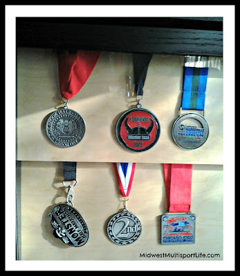InView Designs Medal Case with medals