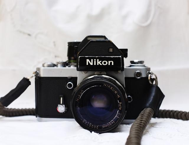 Nikon F2s with Tim Irving Bespoke camera strap