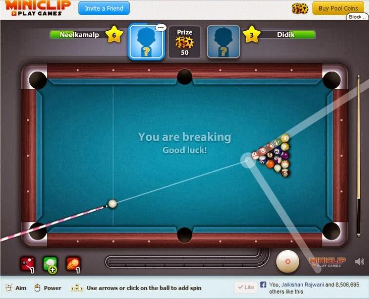 8 Bal pool Hack