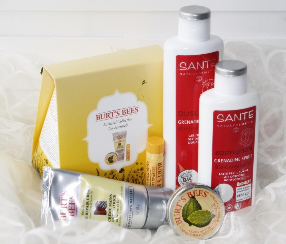 Burts Bees Geschenkset Sante Grenadine Spirit