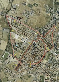 circuito carrera Santo Toribio Astorga www.mediamaratonleon.com