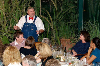 Farmer Lee Jones at Brasserie Harvest Dinner Series 2011