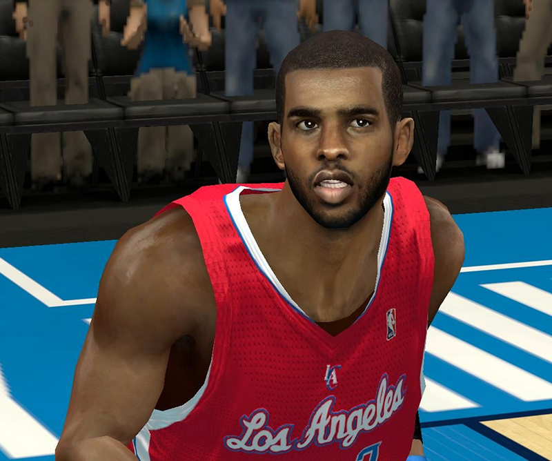 NBA 2K14 Chris Paul Face Mod