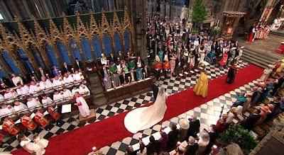 Majlis Perkahwinan Diraja Putera William Dan Kate Middleton (Gambar)