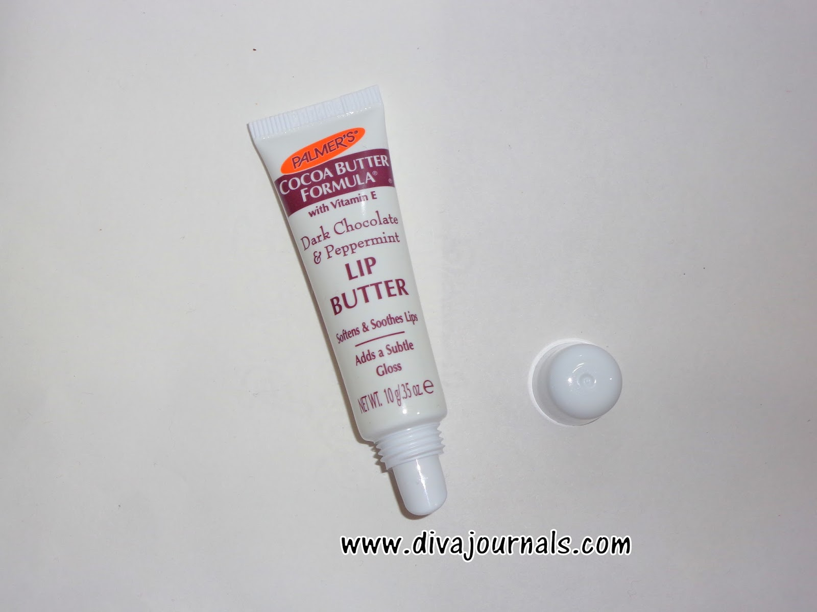 Palmer's Cocoa Butter Formula Dark Chocolate & Peppermint Lip Butter Review