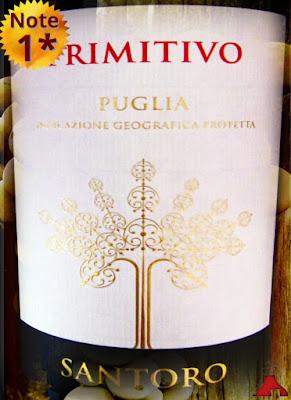 Santoro Primitivo Puglia 2013