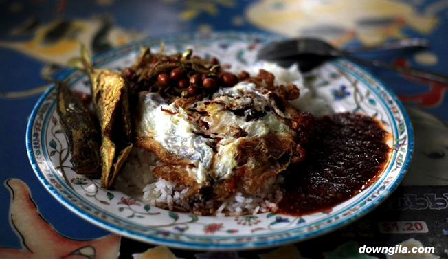 nasi lemak malaysia fatty rice