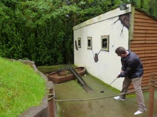 Mini Golf at Wonderland in Telford