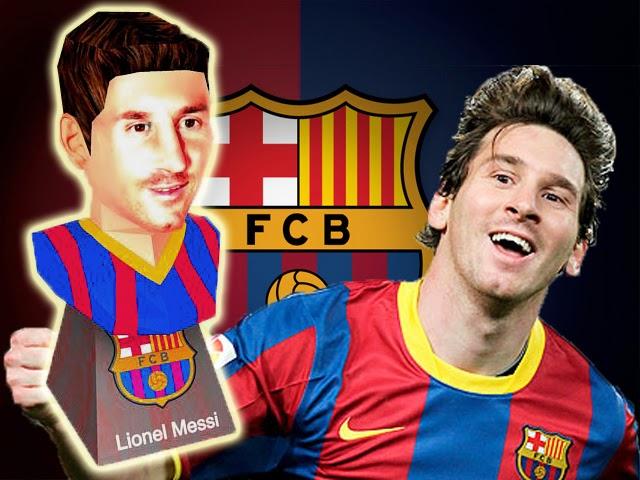 Lionel Messi Papercraft