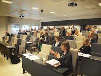 Bilde fra årskonferansen 'Etiske trusselbilder, profesjonell respons'.