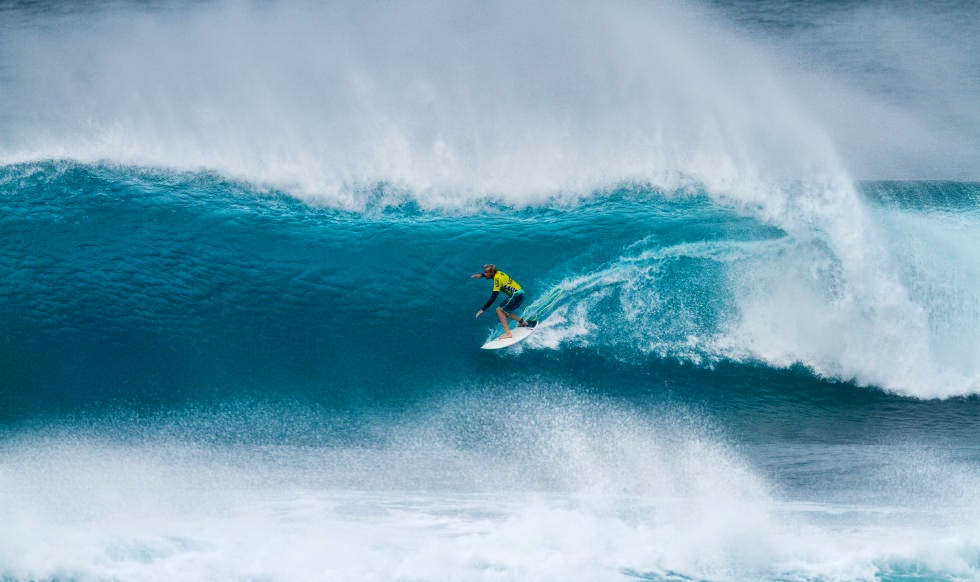 40 Vans World Cup of Sufing 2014 Charly Martin Foto ASP
