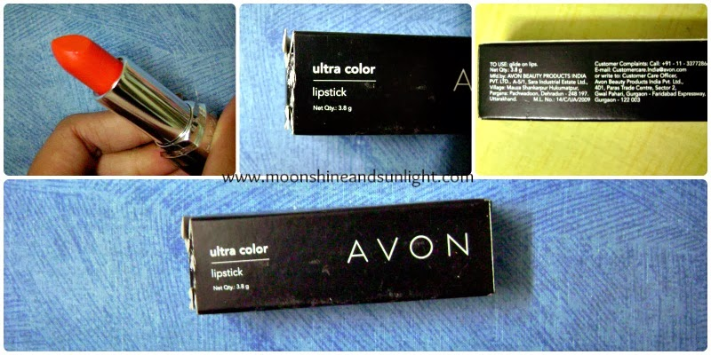 Avon Ultra Color lipstick in Wild Ginger Review