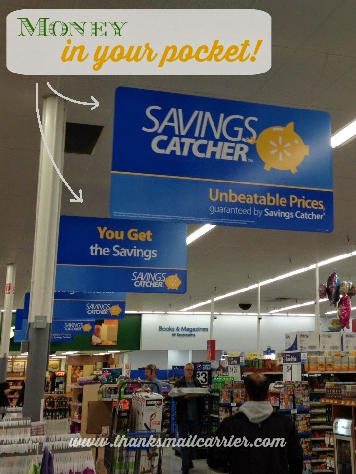 Savings Catcher sign