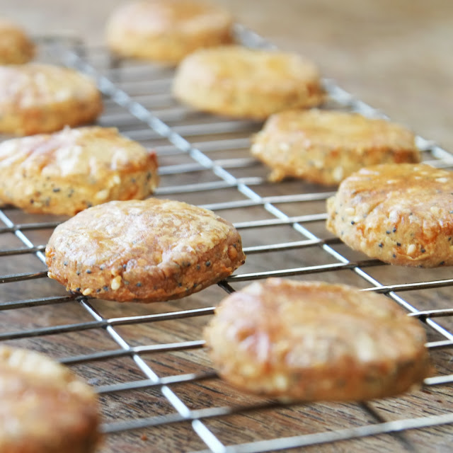 Savoury Cheese Biscuits / Crackers - Gathering Beauty