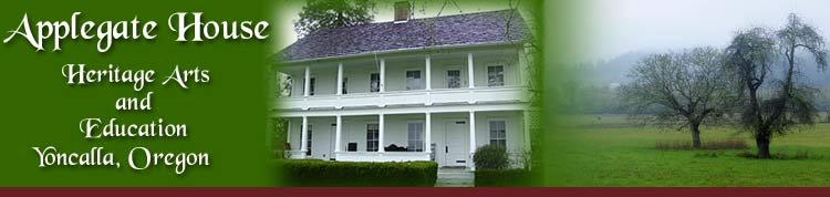 Oregon gifts of comfort and joy the online diary of a for Applegate house