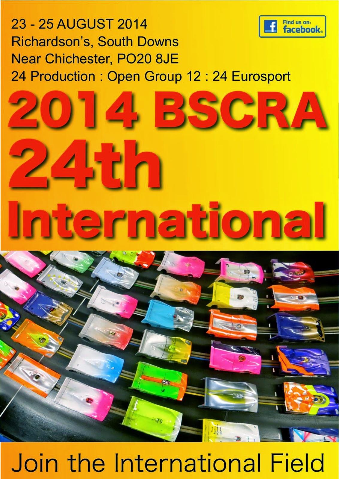 Bscra slot car