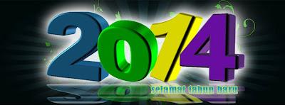sampul 3d tahun baru 2014