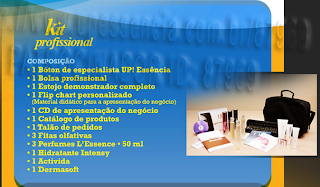 concessão do kit professional da up essencias