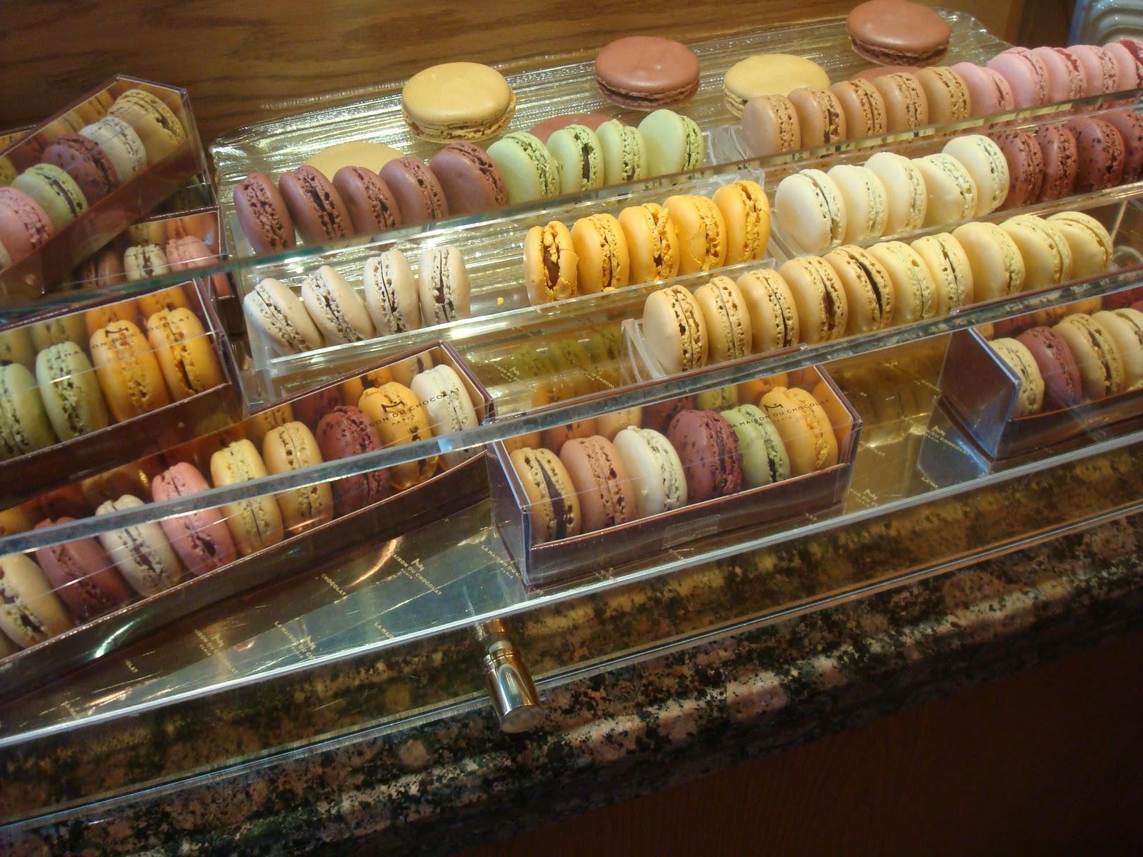 Les amies doces macarons em nova york for Macarons la maison du chocolat