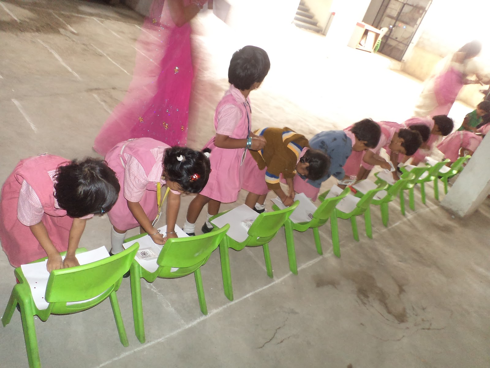 pre primary sports day at attapur