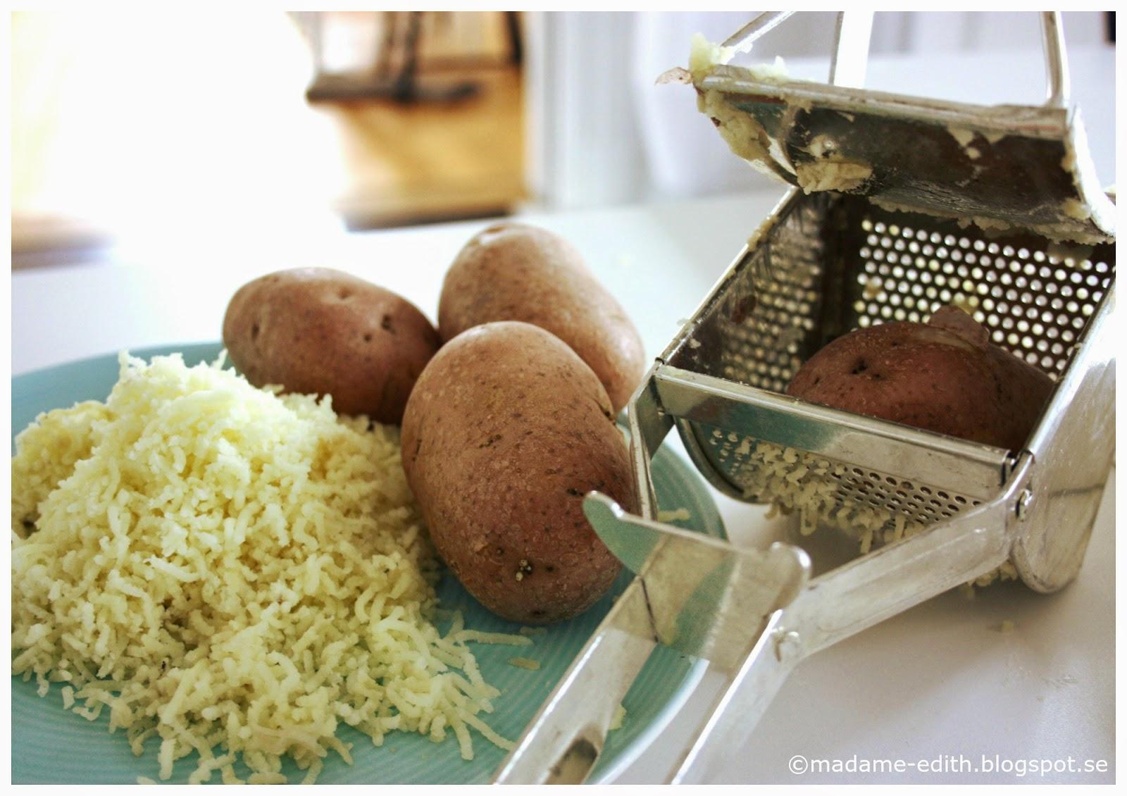 olika sätt att tillaga potatis