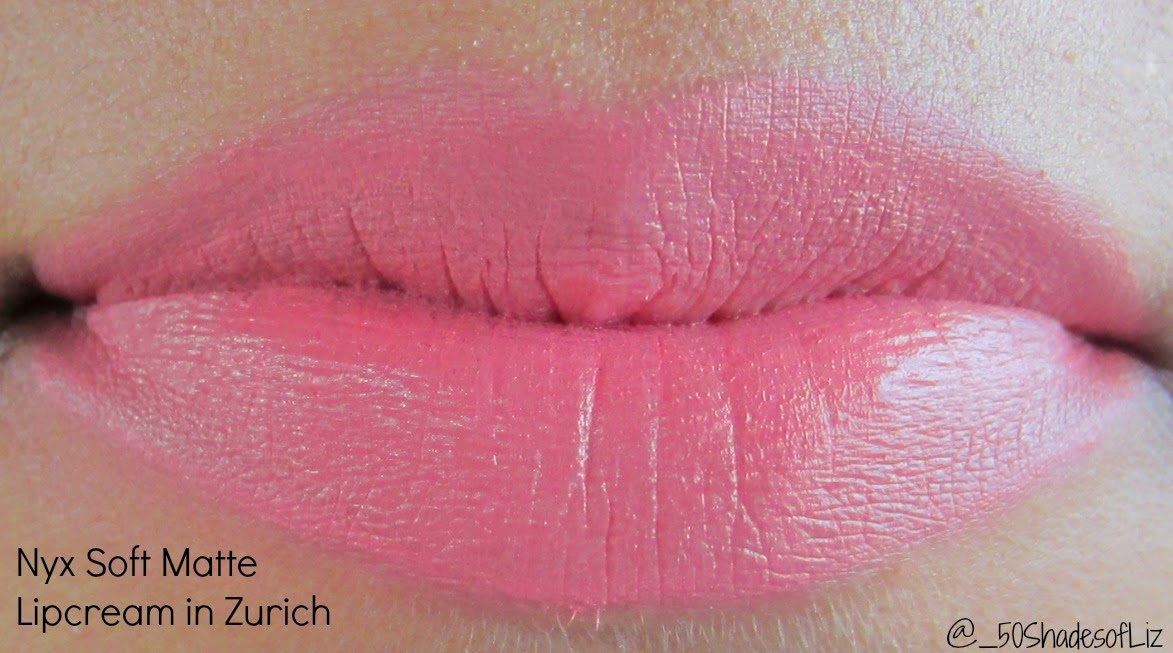 Nyx Soft Matte Lip Cream in Zurich