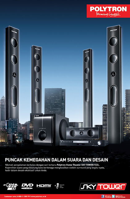 Polytron Home Theater SKY TOWER 922L