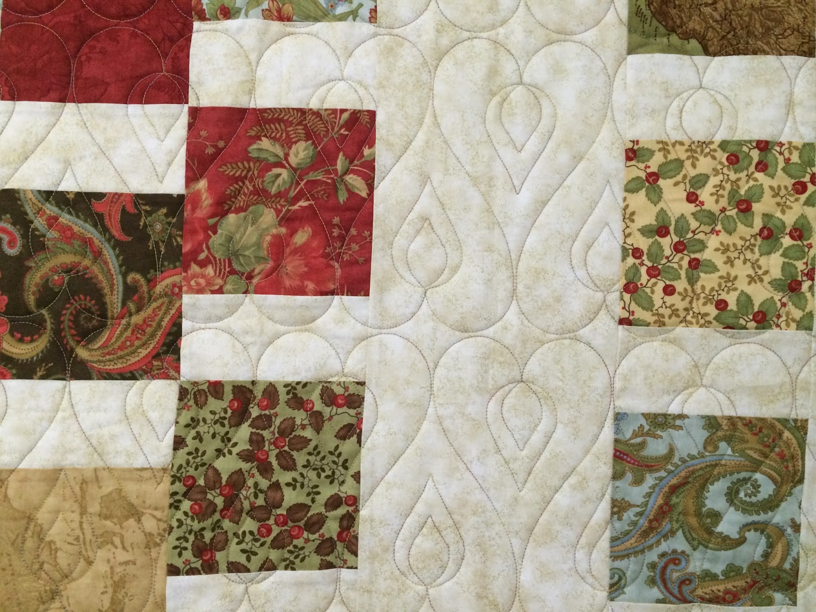 Nancy Thornton's Fall Colors Quilt