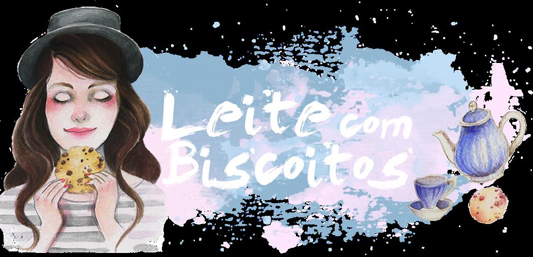 Leite com Biscoitos.