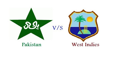 First ODI match between Pakistan and West Indies