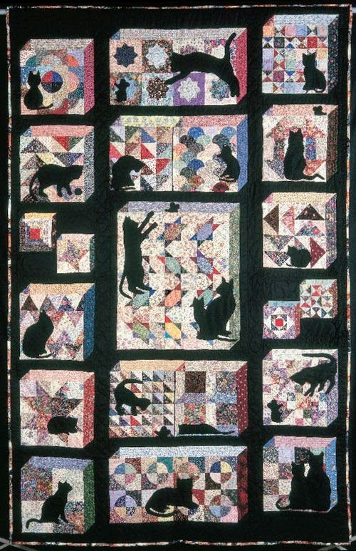 Quilt Inspiration Free Pattern Day Attic Windows Quilts