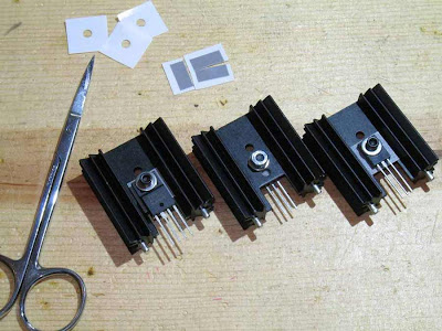 Heat Sink with IC