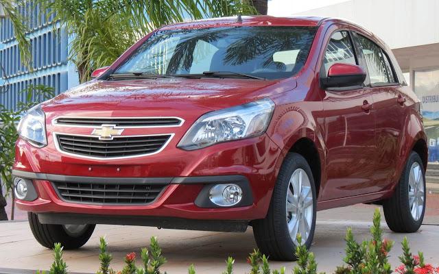 Chevrolet Agile EasyTronic 2014